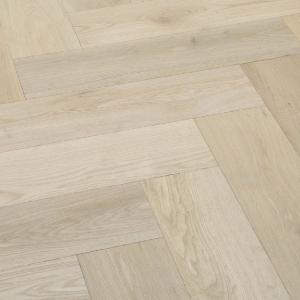 Denoel Engineered Oak Unfinished Parquet Flooring 90 x400mm