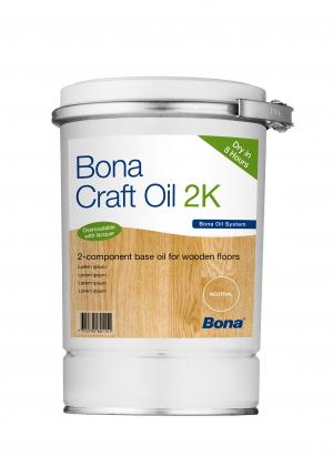 Bona Craft Oil 2K Frost (White) 1,25L