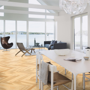 BOEN Pure Nordic Collection  ASH BALTIC  Engineered Wood Parquet Flooring  70mm