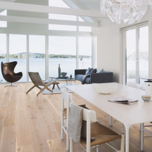 BOEN Pure Nordic Collection WHITE NIGHTS Engineered Wood Flooring  209mm  - CALL FOR PRICE