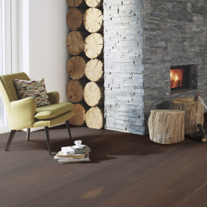 BOEN Urban Contrast Collection OAK SMOKED ANDANTE Engineered Wood Flooring 209mm  - CALL FOR PRICE
