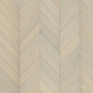 KAHRS Chevron Swedish Engineered wood Flooring Oak  White Oiled 305mm