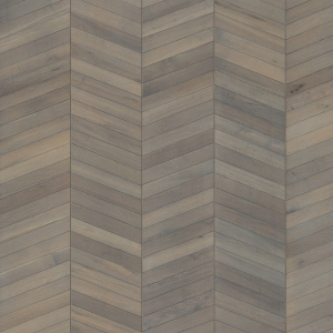 KAHRS CHEVRON SWEDISH ENGINEERED WOOD FLOORING OAK  Grey Oiled 305mm