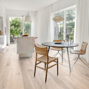 KAHRS Lux Collection Oak  Sky Ultra Matt Lacquer  Swedish Engineered  Flooring 187mm - CALL FOR PRICE