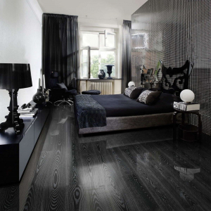 KAHRS Shine Ash Black Silver Lacquer Swedish Engineered Flooring 187mm - CALL FOR PRICE