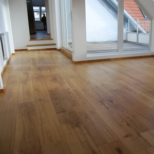 ABL ENGINEERED WOOD FLOORING RUSTIC LIGHTLY BRUSHED LACQUERED FSC OAK 180X2400MM