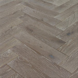 Denoel Engineered Oak Oiled Silver Haze  Parquet Flooring 90 x 360mm