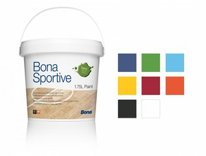 Bona Sportive Paint Light Blue 1,75L