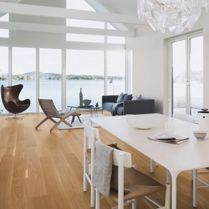 BOEN Pure Nordic Collection OAK  ANDANTE Engineered Wood Flooring 215mm  - CALL FOR PRICE