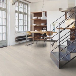 BOEN Pure Nordic Collection  OAK WHITE ANDANTE LIVE PURE Engineered Wood Flooring 209mm  - CALL FOR PRICE