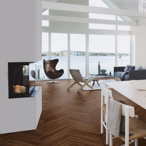 BOEN Urban Contrast Collection WALNUT AMERICAN NATURE Engineered Wood Parquet Flooring 70mm