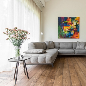 ECO EUROPEAN PREMIUM ENGINEERED FLOORING SAICOS  WALNUT RUSTIC 180mm