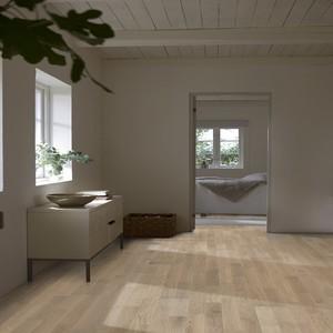 KAHRS Sand Collection Oak PORTOFINO  Matt Lacquered Swedish Engineered  Flooring 200mm - CALL FOR PRICE