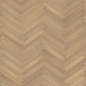 KAHRS Studio Collection Herringbone Swedish Engineered Wood Flooring Oak CD White Oiled 70mm - CALL FOR PRICE