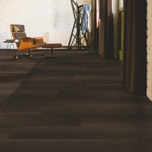QUICK STEP LAMINATE PERSPECTIVE WIDE  COLLECTION FUMED OAK DARK FLOORING 9.5mm