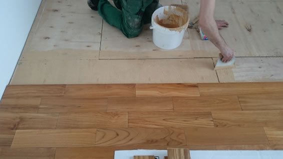 Wood Floor Installation- London Eco Floors