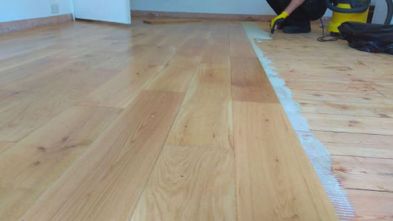 Wood Floor Installation Service- London Eco Floors