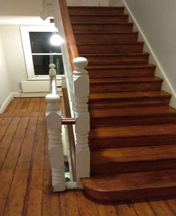 Stairs Sanding Service- London Eco Floors