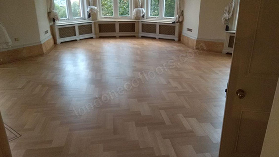Wood Floor Sanding- London Eco Floors